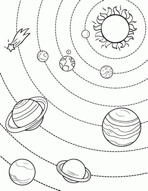 solar system coloring pages download printable solar system coloring page free pdf download at