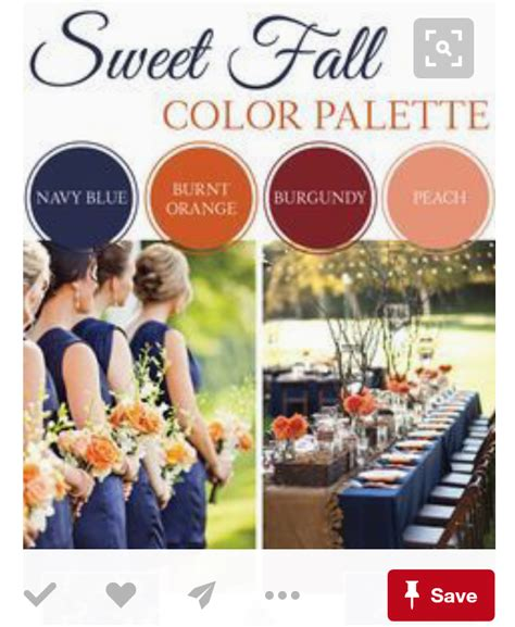 november colors november wedding colors
