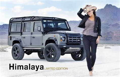 land rover himalaya nice limited edition himalaya 110 defender inspiration