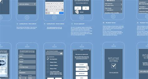 design home app voting an app to redesign how we vote co design business design
