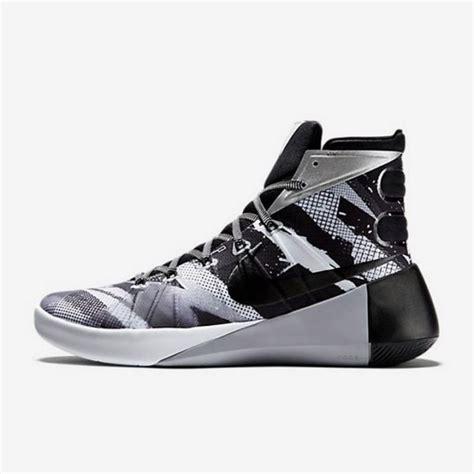 jual sepatu basket nike hyperdunk 2015 premium black white