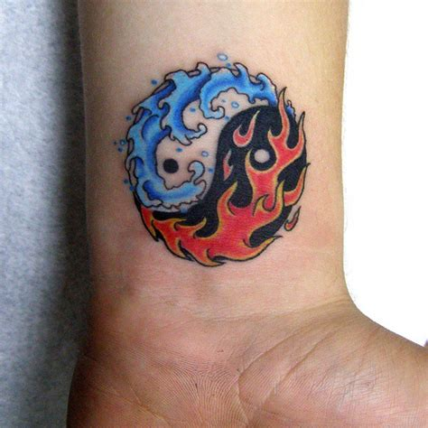 fire and water tattoo 45 creative images of yin yang tattoos
