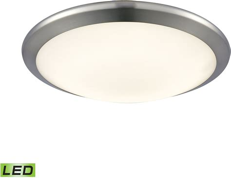 Small Flush Mount Light Fixture Alico Fml4525 10 15 Clancy Chrome Led Small Flush Mount Light Fixture Alc Fml4525 10 15