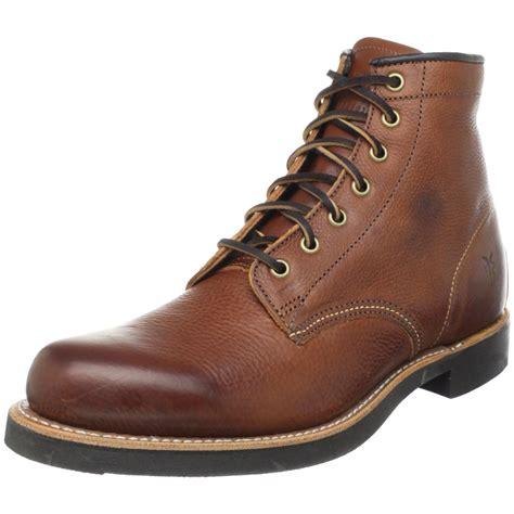 mens boots frye frye mens arkansas mid lace boot in brown for