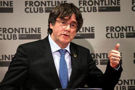 puigdemont frontline club puigdemont apuesta por la unilateralidad pero pide calma