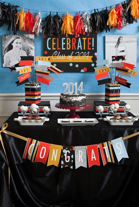 graduation themes list graduation party ideas inspiration and free printables