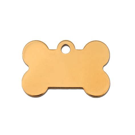petco tags tag small gold bone personalized engraved pet id tag petco