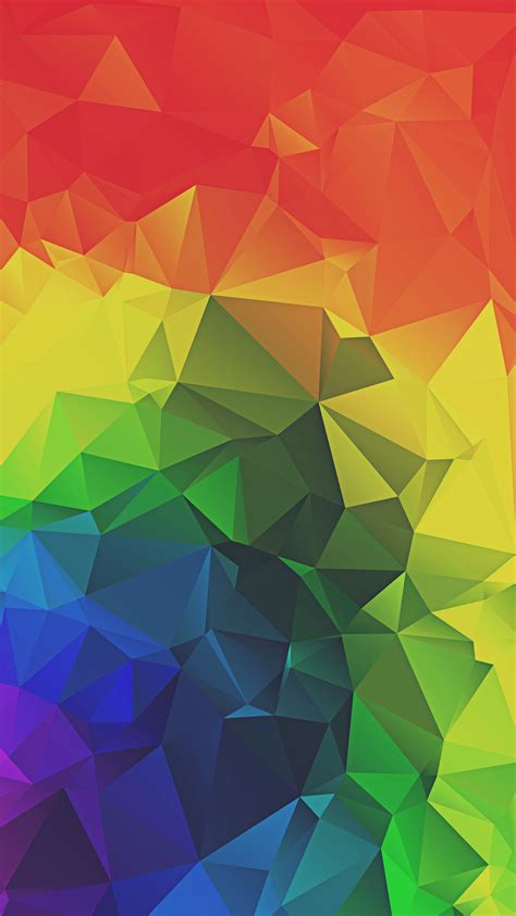 wallpaper for iphone rainbow rainbow triangles abstract iphone 6 hd wallpaper