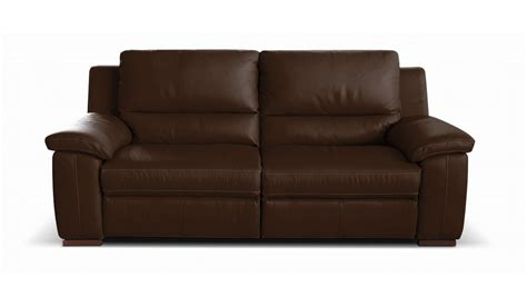 sofa brown diamante 2 seater leather sofa vavicci fine home