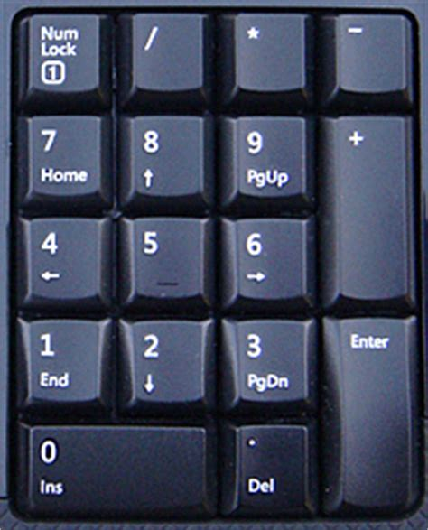 Numeric Keyboard M Tech q a why are the on my numeric keypad not working