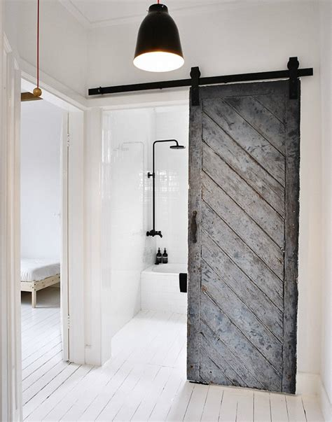Bring Some Country Spirit To Your Home With Interior Barn Barn Door Doors