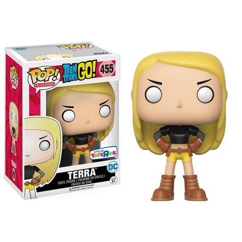 Funko Pop Original Dc Comics Go Terra Toys R Us Exclusive Terra Joins The Funko Pop