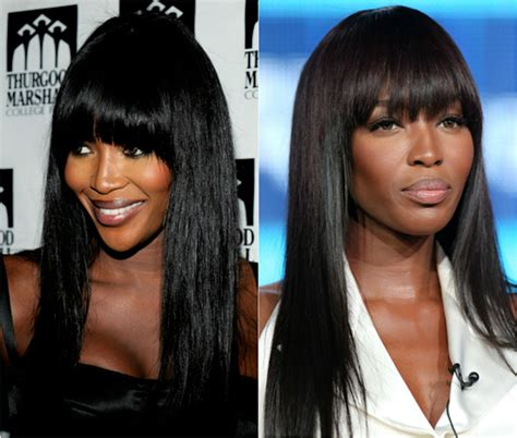 pics of black woman clip on hairstyle hairstyles with bangs fringe human hair clip in bangs best