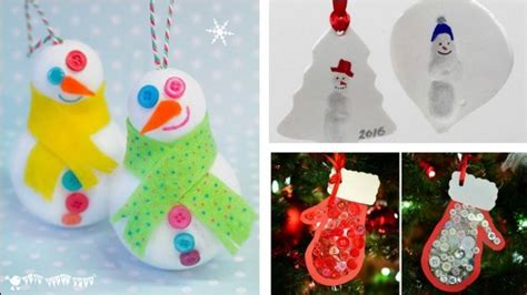christmas ornament crafts  kids  families