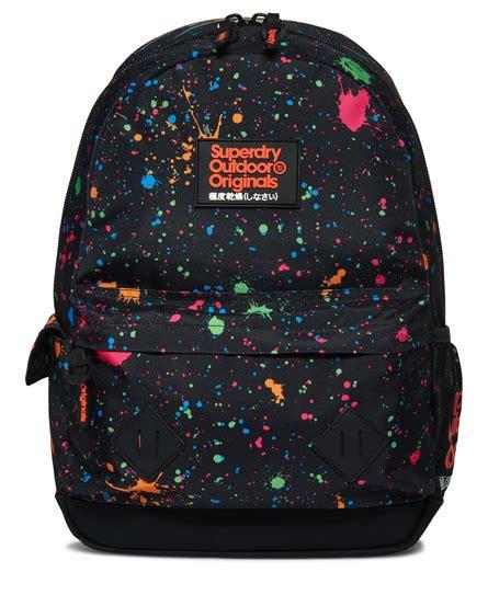 Splatter Montana Backpack Superdry superdry splatter montana rucksack s bags