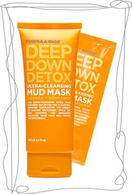 Detox Ultra Cleansing Mud Mask Makeupalley formula 10 0 6 detox ultra cleansing mud mask