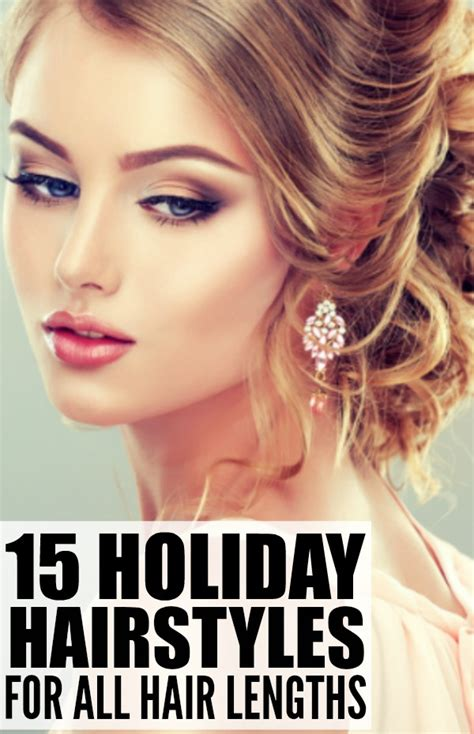 holiday hairstyles for medium length hair 15 holiday hairstyles for all hair lengths