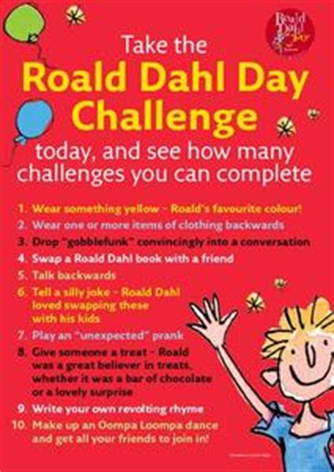 roald dahl book review template roald dahl day challenge 1st 5th grade printables