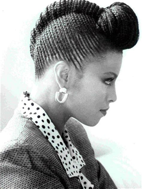 braiding styles that do not require a lot of preparation time african cornrow braided bun hairstyles for black hair