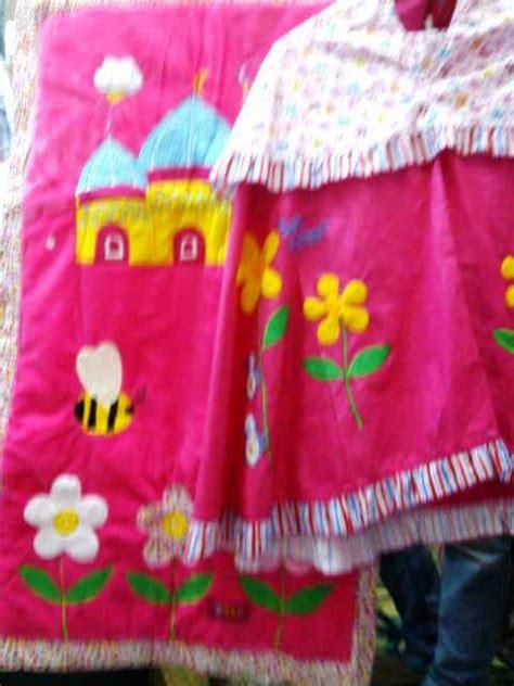 Mukena Anak Lucu Size Ll Motif Harmony Mukena Terbaru detail baju koko anak borneo hijau toko bunda