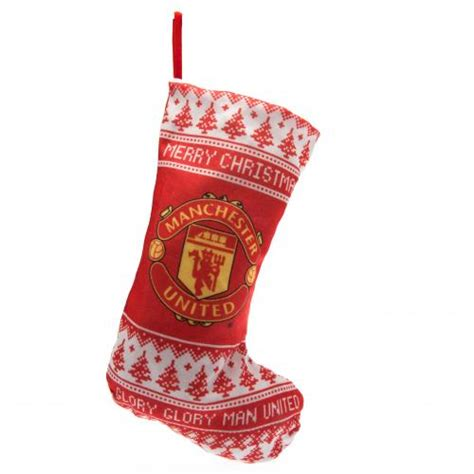 manchester united nordic christmas stocking
