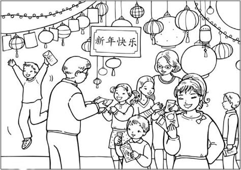 coloring pages chinese new year chinese new year snake coloring pages family holiday net