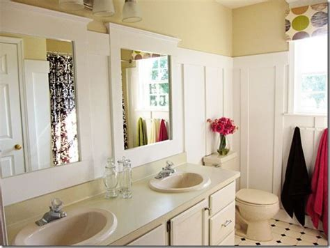 bathroom makeovers diy home improvement budget bathroom makeover the wall