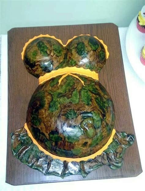 Camouflage Baby Shower by Camo Baby Shower Cake Ideas And Designs