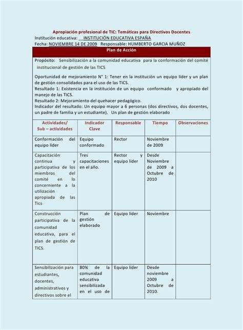 layout planning español plan de gestion i e espa 209 a