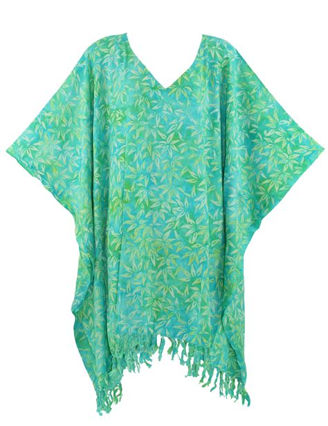 batik kaftan caftan tunic top blouse plus size