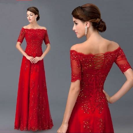 Abendkleider Ballkleider by Langes Kleid Dunkelrot
