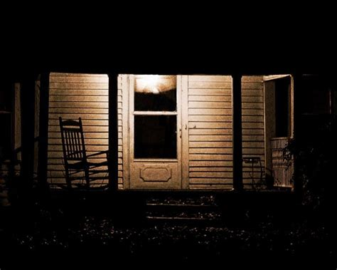 porch at night a year of being here mark strand quot the night the porch quot