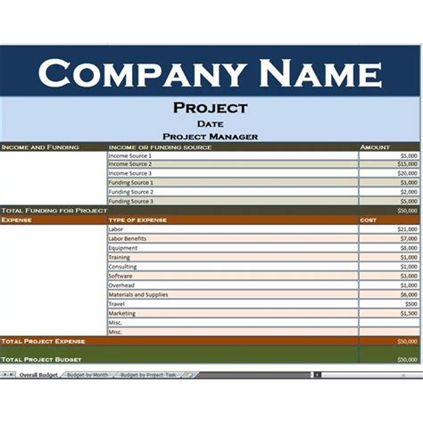 it project budget template use this excel project budget template to simplify your