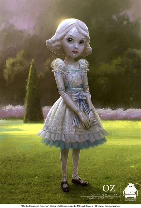 the china doll from oz oz the great and powerful china by michaelkutsche