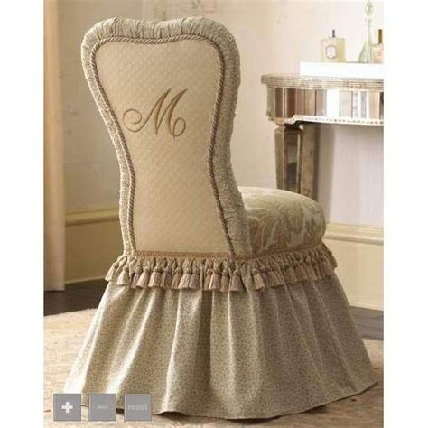 simple minimalist vanity chair with skirt pinterest the world s catalog of ideas
