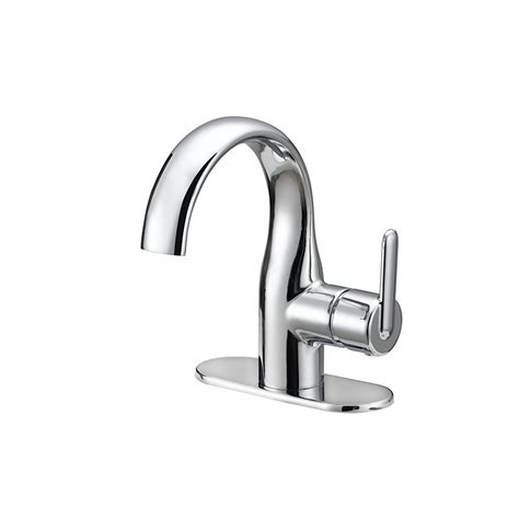 Install A Kitchen Faucet Shop Jacuzzi Belice Chrome 1 Handle Single Hole Watersense