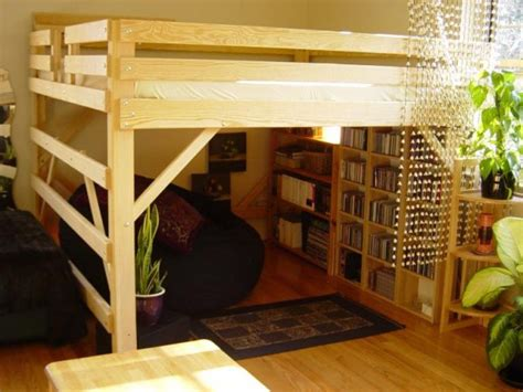 diy loft bed frame 25 diy bunk beds with plans guide patterns