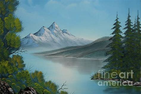 bob ross paintings mountains bob ross mountain lake paintings bob ross mountain