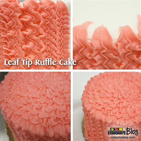 Leaf Tip Cake Decorating by How To Decorate With The Leaf Tip Celebrate More