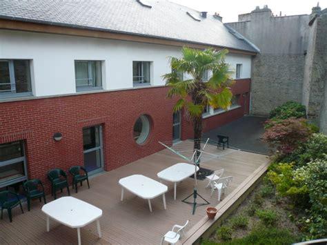 patio cherbourg auberge de jeunesse hi cherbourg en cotentin cherbourg