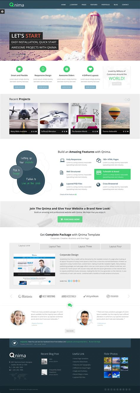 multipurpose joomla template virtuemart theme