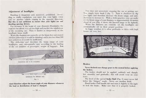 Bz S Bmw Isetta 300 S Citroen 2cv Owners Manual 1959 Edition