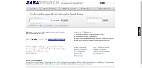 Zapa Search Find Anyone Ten Free Web Resources