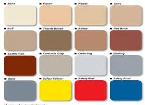 american standard color chart stained concrete dallas fort worth acid stained sale