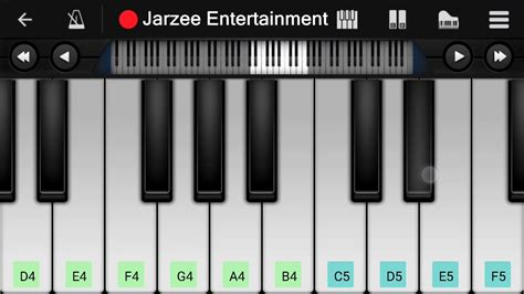 tutorial piano faded alan walker faded easy mobile perfect piano tutorial