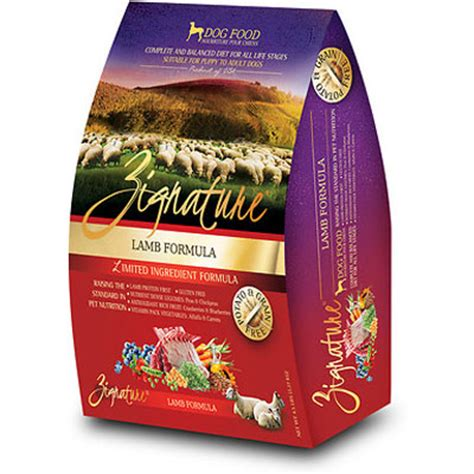 zignature puppy food food