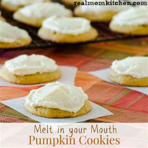 melt in your mouth pumpkin cookies real mom kitchen