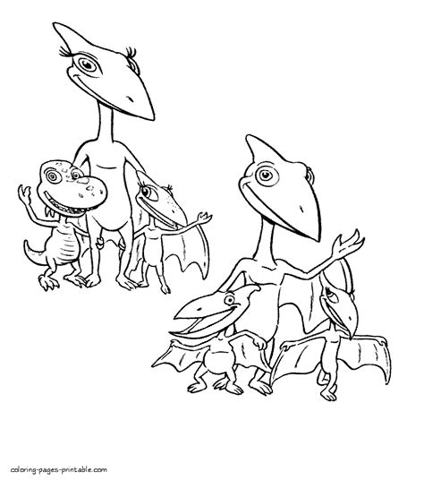 dinosaur family coloring page all dinosaur family members coloring page