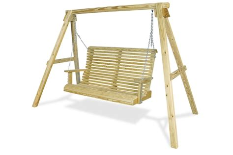 swinging bench plans bench swings woodoperating project free shed plan