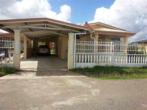 single story 2 bedroom house for rent in couva tabaquite